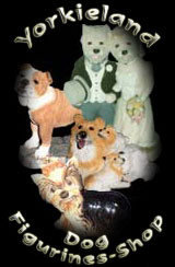 Dog Figurines Shop - by Yorkieland